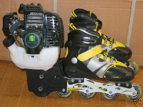 Motorized Rollerblades