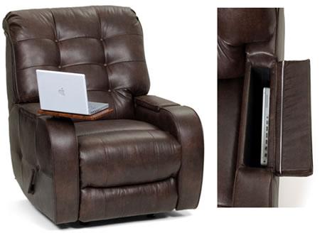 Berkline Chairs Hide Your Laptop