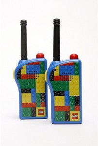 walkie talkie lego