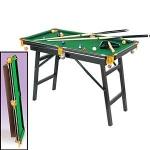 Fold Up Pool Table