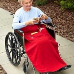 Wheel Chair Blanket with Pockets