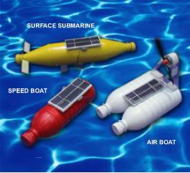 Solar-Powered-Bottle-Boats