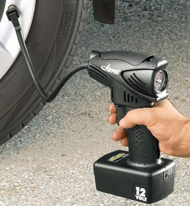 The Airpro Cordless Compressor is a must have for your car tool box.