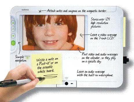 AudioVox Digital Message Center