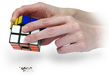 Rubik's Cube Salt & Pepper Mills