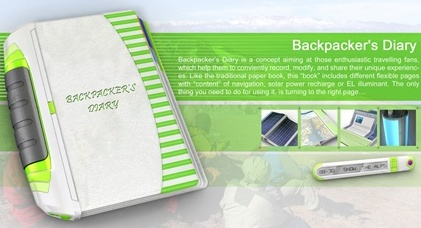 Backpackers Diary Concept PC