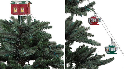 cable_cars - Electronics Gadgets: Cable Cars Christmas Tree Decoration
