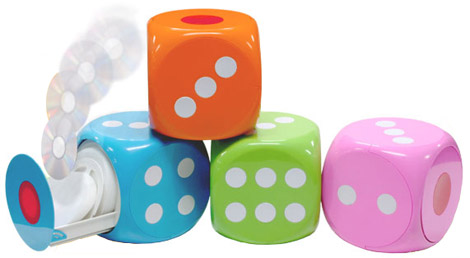 Dice CD Holder