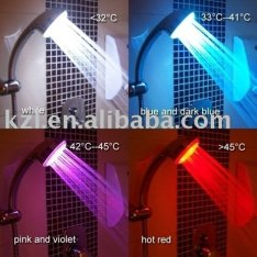 Colored Shower Head