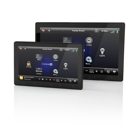 control4 infinityedge Control4 rolls out dedicated in wall touch screens