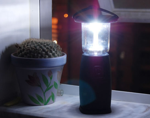 Solar Camping Lamp with Charger
