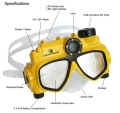 Digital Camera Swim Mask