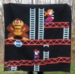 Geek Accessories - The Donkey Kong Quilt