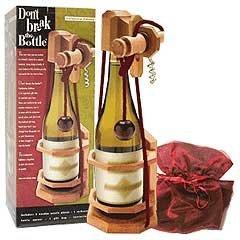 don't break the bottle corkscrew edition