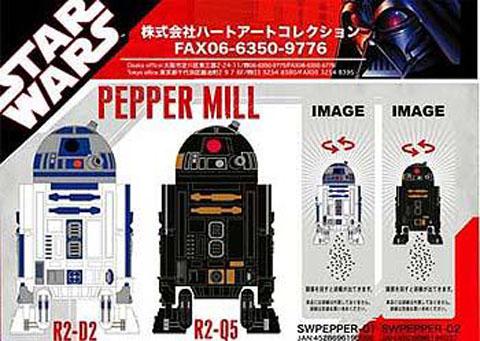 R2D2 Salt and Pepper