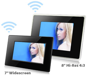 eStarling E-Mail Enabled Wi-Fi Photo Frame