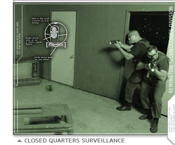 In close quarters, the Eye Ball could save lives by seeing around corners.
