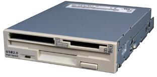 Floppy card reader