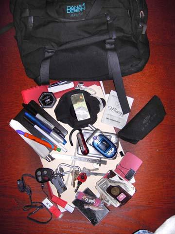 fred's bag
