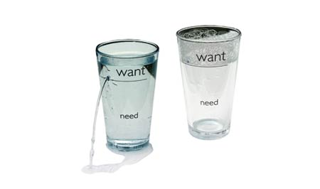 Want Need Glass