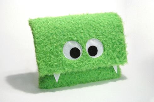 Green Monster Laptop Sleeves
