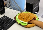 Hamburger USB Warmer Mouse Pad