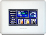 HomeSeer In-Wall Customizable Touchscreen Unit