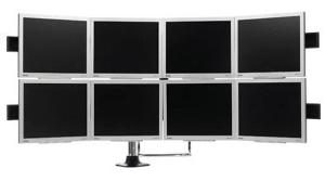 Eight Monitor Setup