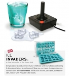 Ice Invaders Ice Tray Makes Space Invaders Ice Cubes