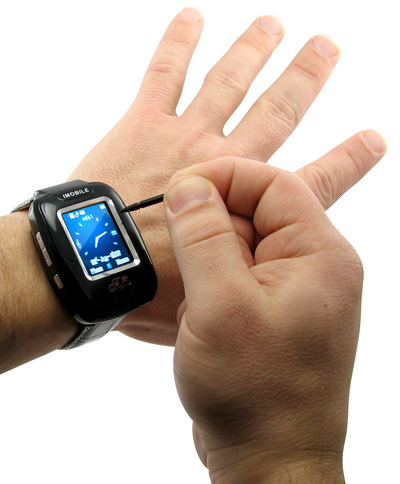 Cellphone watch