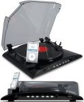 ION iPROFILE USB Turntable Transfers Vinyl Directly To Your iPod