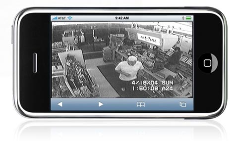 iphone security camera