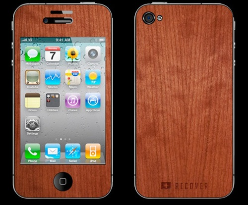iphone wood skin Wood Paneling for your Apple gadgets