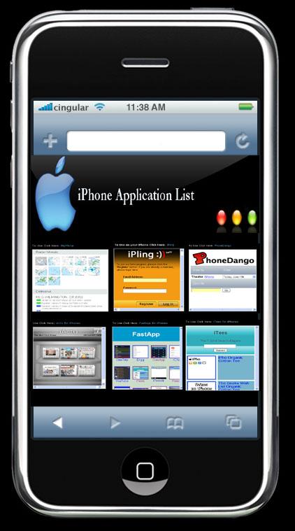 iPhone Applications List
