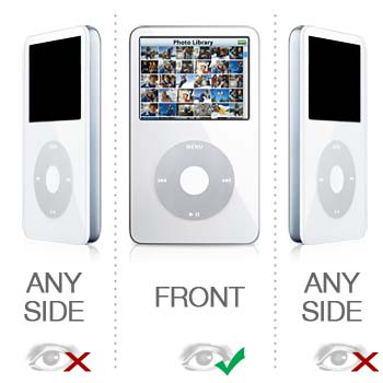 iPod Video Privacy Protector