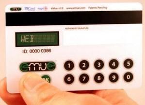 Keypad Credit Card