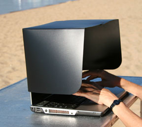 Laptop Sunshade