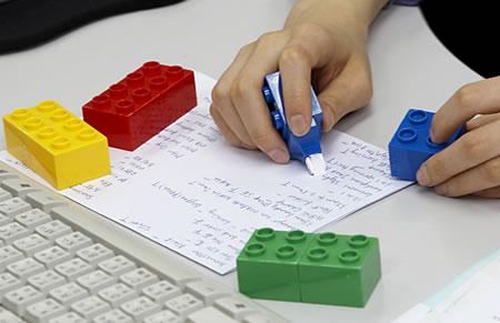 Lego Correction Tape