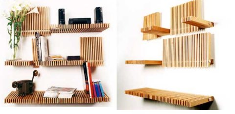 Fold Down Shelfs