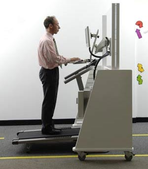 The Mayo Clinic vertical workstation