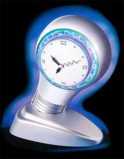Plasma Clock