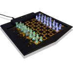 Lighted LED Chess and Checker Set