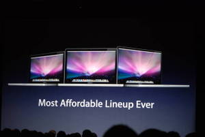 New Macbook Lineup promises cheapest/greenest ever.