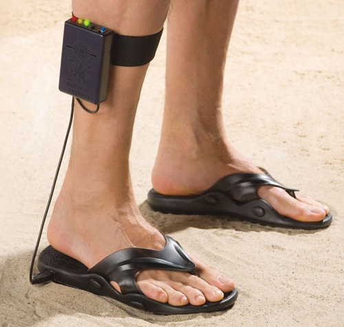 metal sandals