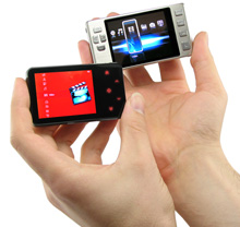 Credit Card Sized Video PLayer