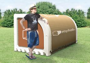 MyHab disposable habitat