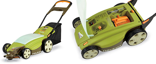 Lawn Mower with rechargeable battery