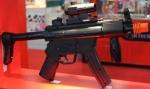 MP5 Sub-Machine Gun Wii Controller