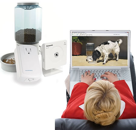 Remote Pet Feeding & Viewing Camera