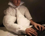 Protect Yourself From Narcolepsy Related Injury With Pillow Suit for Workaholics!